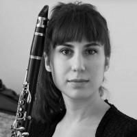 Zoe with clarinet